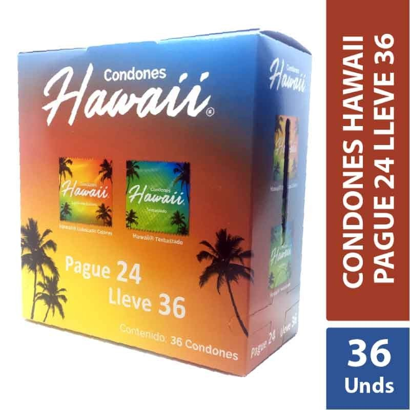 Condones Hawaii x 36 Unds