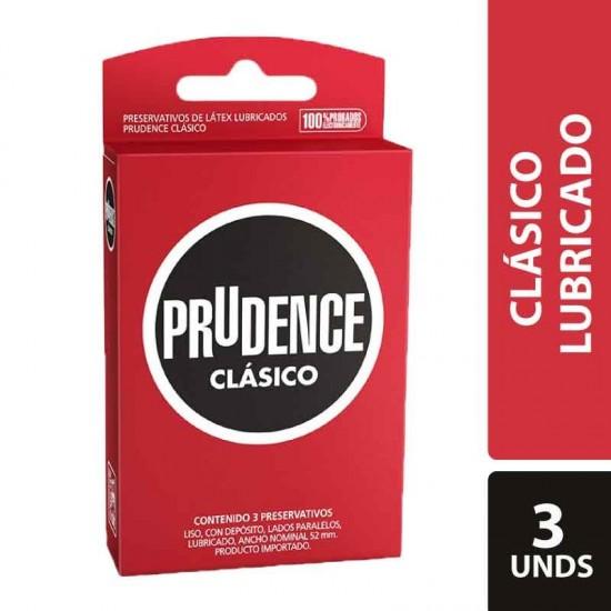 Condones prudence clasico x 3