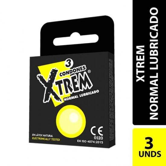 Condones Xtrem Lubricado X 3